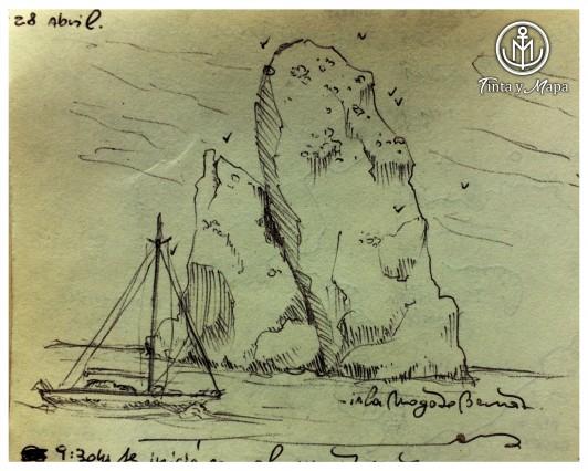 Islas Medas 3 - Tinta y Mapa